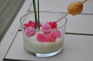 Desset aux fleurs